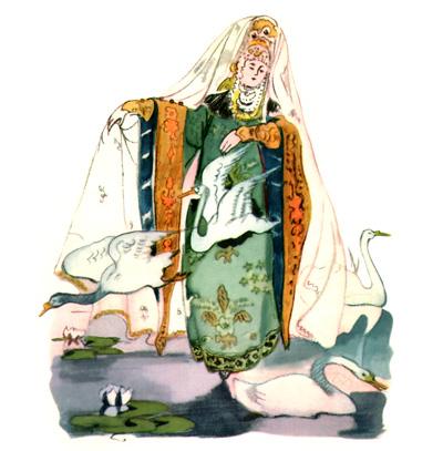 Царевна лягушка картинки иллюстрации к сказки
