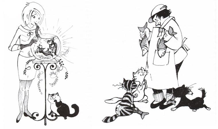 Иллюстрации из книги «Мурли»