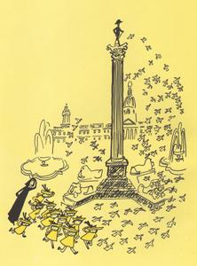 1 Иллюстрация Людвига Бемельманса к книге «Мадлен в Лондоне»