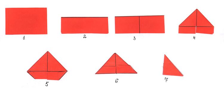 Схема треугольного модуля
