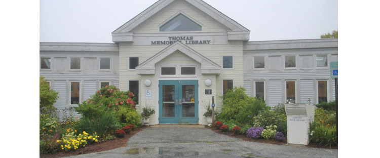Здание библиотеки в Кейп Элизабет