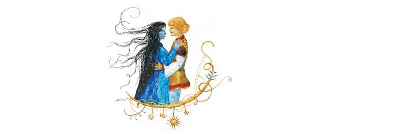 4 Иллюстрация Анны Юдиной к книге Джорджа Макдональда «Мальчик дня и девочка ночи»