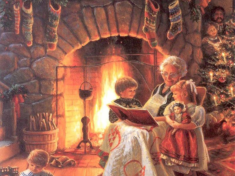 Чудо рождественской ночи»: традиции праздничного чтения в России | Папмамбук