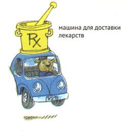Машинка для доставки лекарств